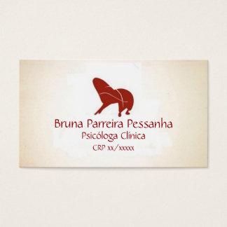 Cartão Poltrona Psicanalista