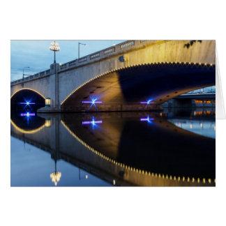 Cartão Ponte da rua do mercado, Philadelphfia