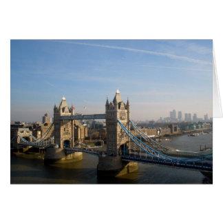Cartão Ponte da torre