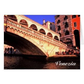 Cartão Ponte Rialto