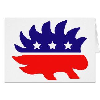 Cartão Porco- da liberdade