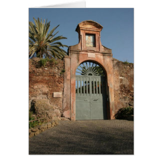 Cartão Porta romana