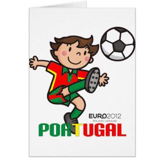 Cartão Portugal - euro- 2012