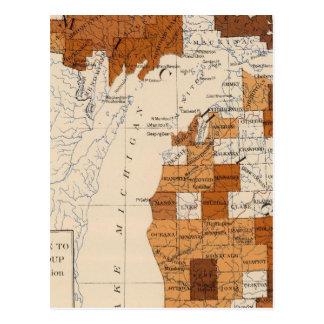 Cartão Postal 106 difteria, croup Michigan