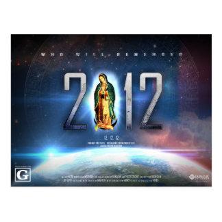 Cartão Postal 12.12.12 Comemorando nossa senhora de Guadalupe