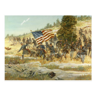 Cartão Postal 20o regimento de infantaria voluntário de maine