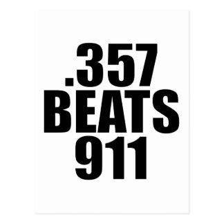Cartão Postal .357 Bate 911