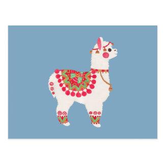 Cartão Postal A alpaca