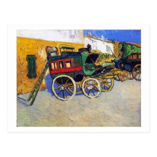 Cartão Postal A aplicação Vincent van Gogh de Tarascon