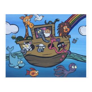 Cartão Postal A arca de Noah