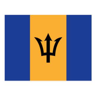 Cartão Postal A bandeira de Barbados