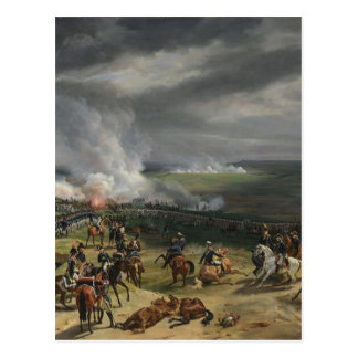 Cartão Postal A batalha de Valmy (20 de setembro de 1792) por