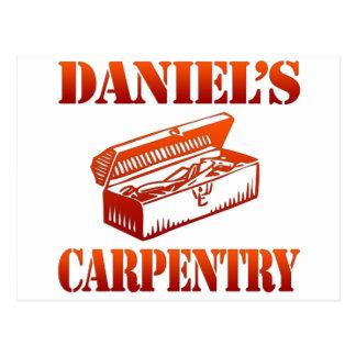 Cartão Postal A carpintaria de Daniel