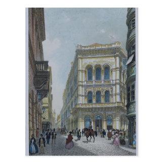 Cartão Postal A construção da operação bancária e de bolsa de