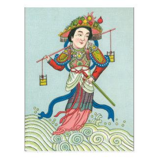 Cartão Postal A deusa da água