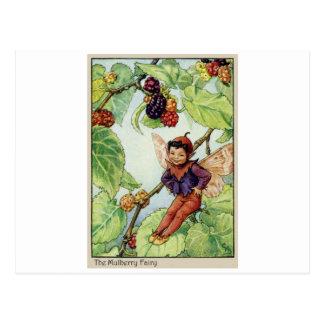 Cartão Postal A fada do Mulberry