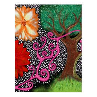Cartão Postal A floresta da possibilidade eterno