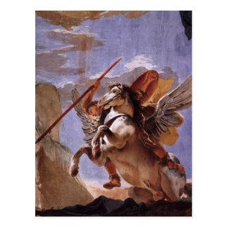 Cartão Postal A força da eloquência, do Bellerophon e do Pegasus