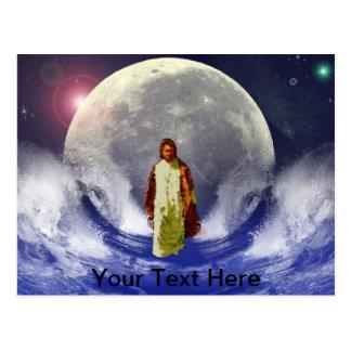 Cartão Postal A luz eterna