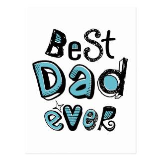 Cartão Postal A melhor tipografia do pai nunca