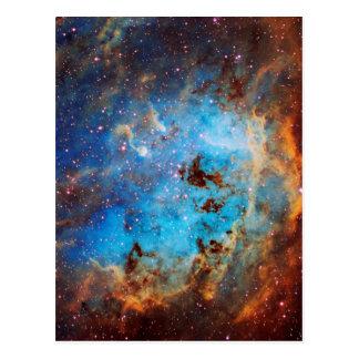 Cartão Postal A nebulosa de Tapdole