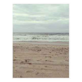 Cartão Postal A praia