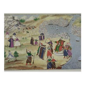 Cartão Postal A queda prevista de Constantinople, do PIC