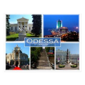 Cartão Postal A Ucrânia - Odessa -