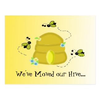 Cartão Postal Abelhas que ocupadas nós nos movemos