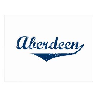 Cartão Postal Aberdeen