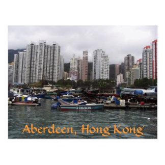 Cartão Postal Aberdeen, Hong Kong