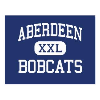 Cartão Postal Aberdeen - linces - alto - Aberdeen Washington