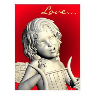 Cartão Postal Acordos românticos