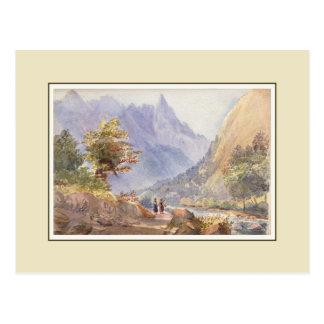 Cartão Postal Aguarela do Victorian