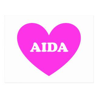 Cartão Postal Aida