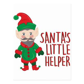 Cartão Postal Ajudante de Santa