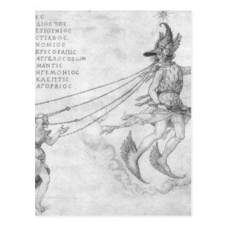 Cartão Postal Alegoria da eloquência por Albrecht Durer