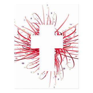 Cartão Postal ALEGRIA! na cruz