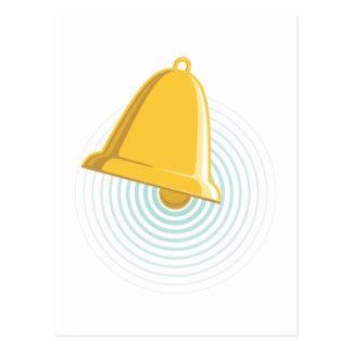 Cartão Postal Alerta de Bell dourada