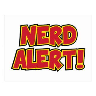 Cartão Postal Alerta do nerd!