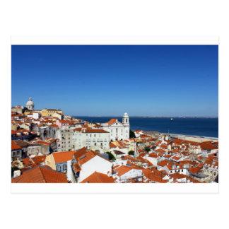 Cartão Postal Alfama, Lisboa, Portugal