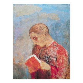 Cartão Postal Alsácia ou, leitura da monge, c.1914