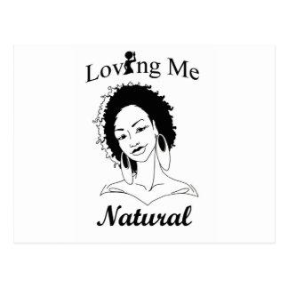 Cartão Postal Amando me natural