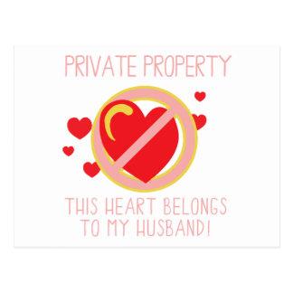 Cartão Postal Ame meu marido