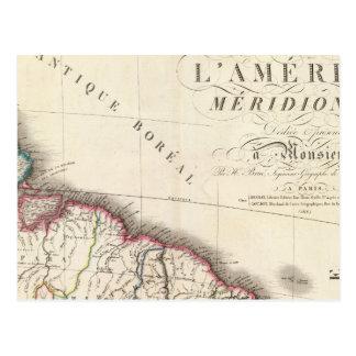 Cartão Postal Ámérica do Sul do nordeste