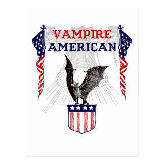 Cartão Postal Americano do vampiro