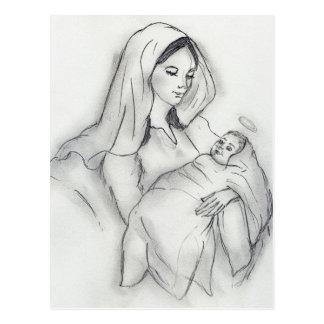 Cartão Postal Amor de mães