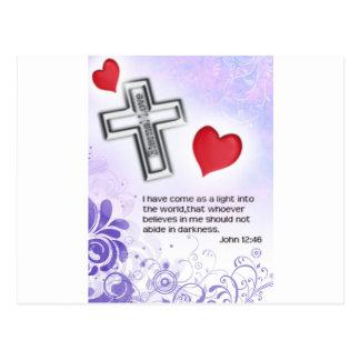 Cartão Postal Amor eterno de Chirist
