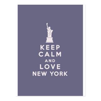 Cartão Postal Amor New York New York!