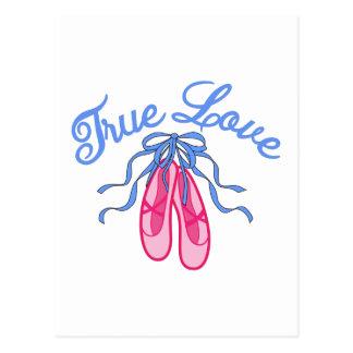 Cartão Postal Amor verdadeiro